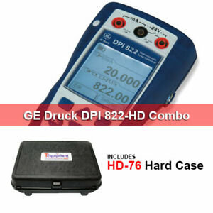 Druck Dpi 822 hd Thermocouple Calibrator And Ma Measurement With Hard Case