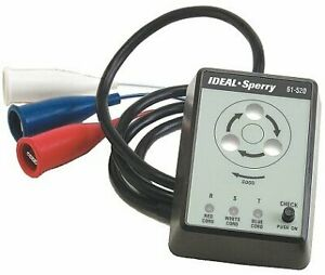 Ideal 61 520 3 phase Motor Rotation Tester