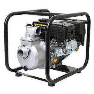 2 Semi Trash Pump 147 Gpm 6 5 Hp 50 Psi Aluminum Steel Cradle