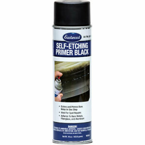 Eastwood Self Etching Black Aerosol 16oz Can Automotive Primers Rust Free Metal