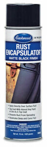 Black Rust Prevention Encapsulator Aerosol 15oz Superior Uv Resistanc