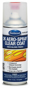 Eastwood 2k High Gloss Clear Coating Aerosol Spray 12 Oz 8 Sq Ft