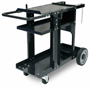 Eastwood Mig Tig Plasma Welding Cart 350 Lbs Weight Capacity Cable gas Storage