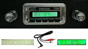 1968 72 Gto Lemans Tempest Radio W Free Aux Cable 230 Stereo