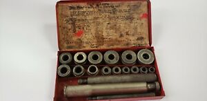 Snap on Tools Blue point A 157a Bushing Driver Set Complete Set Original Metal