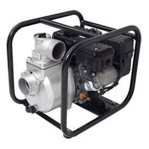 3 Semi Trash Pump 259 Gpm 6 5 Hp 50 Psi Aluminum 3 8 Solid