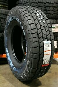 2 New Cooper Discoverer At3 Lt 123r 60k mile Tires 2657516 265 75 16 26575r16