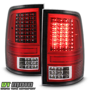 2009 2018 Dodge Ram 1500 10 18 Ram 2500 3500 Red Full Led Tail Lights Lamps Pair