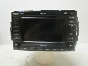 2007 Jeep Commander Navigation Radio Receiver With Display Screen Rec Oem