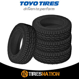 4 New Toyo Open Country A t Ii Xtreme 285 75 17 121s All terrain Tire