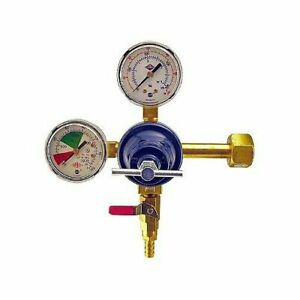 Double Gauge Co2 Kegerator Regulator Works With Any Co2 Tank With Cga 320 Valve