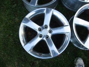 18 Pontiac G6 Aura Polished Oem Factory Alloy Wheel Rim 6597 2006 2009 1