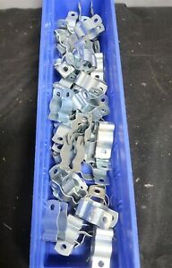 Minerallac 1 2 Strut Clamp Steel Channel Pipe Strap Galvanized Lot Of 60