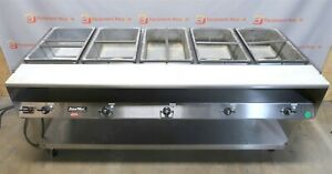 Vollrath Servewell Steam Table 38119 5 Bay Pan Drop In Electric Stainless 76