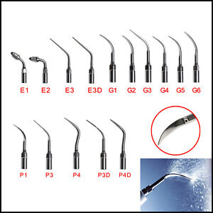 15type Dental Ultrasonic Scaler Scaling Endo Perio Tip Tips F ems Woodpeck G P E