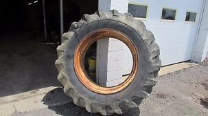 Allis Chalmers 190 Xt Rim With 18 4 34 Tire