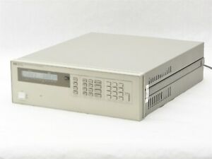 Hp Agilent 6626a Precision Quad Output Dc Power Supply 2 7v 0 015a 2 16v 0 2a