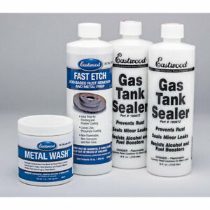 Eastwood Anti Rust Gas Tank Sealer Kits For Cars With Instructions
