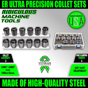 Er32 Collet Set 12pc 7 32 3 4