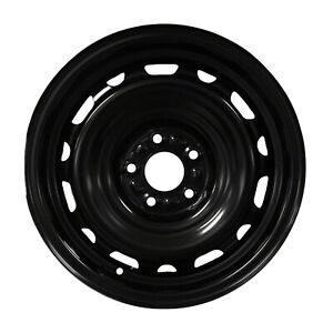 New 16x6 5 Black Steel Wheel For 2006 2011 Ford Fusion 560 03631