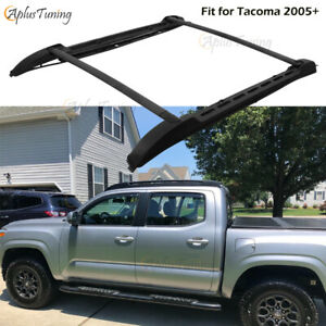 Roof Rack Double Cab For Toyota Tacoma 2005 2019 Cross Bars Side Rails Us Stock