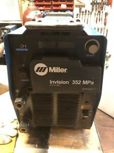 Welder Machine Miller 352mpa And 12rc Wirefeeder Machines Never Had Plugs