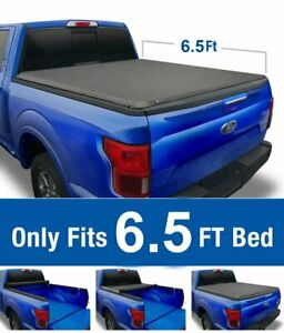 Soft Roll up Tonneau Cover For 2002 2019 Dodge Ram 1500 2500 3500 6 5ft Bed