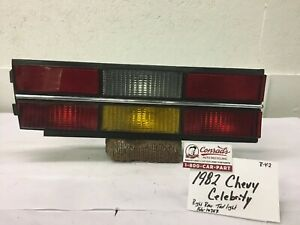 Used Vintage Chevy Celebrity 1982 Right Rear Tail Light Drivers Quality