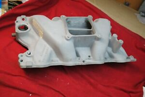 70 71 72 Nos Ford 429 Cobra Jet Shelby Style Intake Manifold Aluminum Flawless O