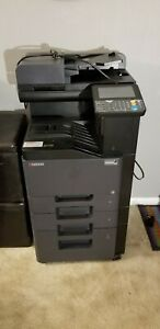 Kyocera Copystar 356ci Color Copier Printer Scanner Radf 2 Draws Msrp 9 400