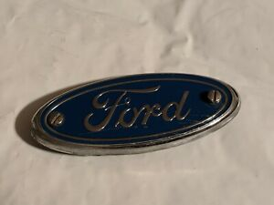 1997 2003 Ford Taurus Rear Trunk Lid Emblem F6db 17e938 Aa Oem Factory Car Part