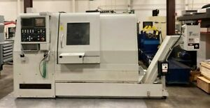 Hardinge Quest 8 51 Cnc hard Turning Lathe W Caxis Yaxis Live Tooling 48169