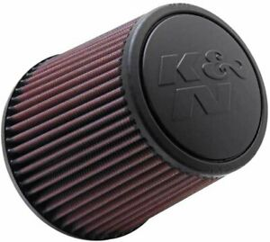 K n Universal Clamp on Engine Air Filter Washable And Reusable Round