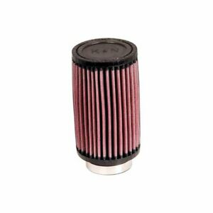 K n Rd 0700 Universal Clamp on Air Filter Round Straight 2 5 In 64 Mm