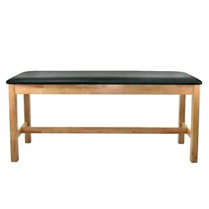 Adirmed Wooden Treatment Table 30 In Adjustable Medical Exam Table