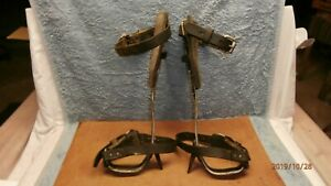 Mine Co Tree Pole Climbing Gaffs Spikes Trimming Trees Hang Deer Tree Stand Vg