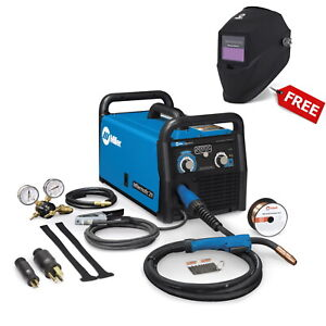 Miller Millermatic 211 Mig Welder With Advanced Auto set W free Helmet 907614