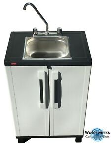 Mobile Concession Sink Portable Food Truck Trailer Hand Washing Hot Water Econo