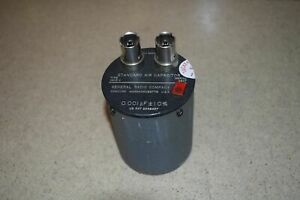 General Radio Standard Air Capacitor Type 1403 v 0 001 Pf 1 0 62