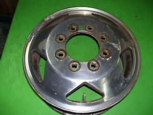 Dodge Ram 3500 Dually Front Wheel Rim 16 X 6 Aluminum Factory Alcoa 82202874 b