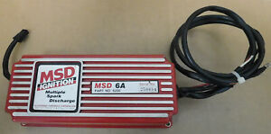 Msd 6200 6a Analog Ignition Box Serial 250694