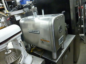 Hobart Powerful 1 2 Hp Gear Driven Complete Meat Grinder 115v 900 More Items