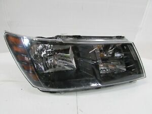 2014 2015 2016 2017 2018 Dodge Journey Oem Right Rh Black Bezel Headlight D3