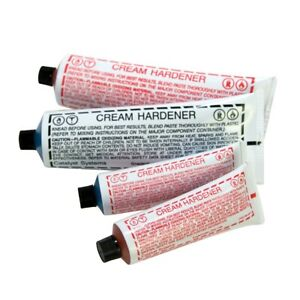 Usc 27112 Blue Cream Hardener For Auto Body Fillers And Putties 4 Oz 6pk