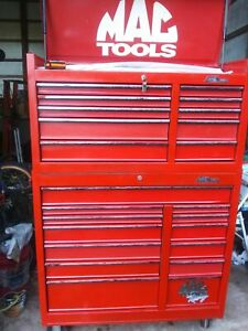 Mac Tool Box Used Top Bottom