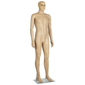 Realistic 72 Adjustable Male Model Full Body Mannequin Detachable Stable W base