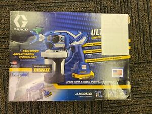 Graco 17n164 Ultimate Cordless Airless Handheld Paint Sprayer Powered By Dewalt