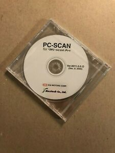New Kia Dealership Pc Scan Cd For Hi Scan Pro Kia Motors Corp Nextech Co Ltd
