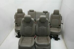 13 14 Gmc Acadia Heat Cool Power Buckets Oem 2nd 3rd Backseat Captains Chairs