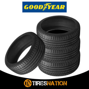4 New Goodyear Eagle Sport All season 215 45r17 91w All season Traction Tire